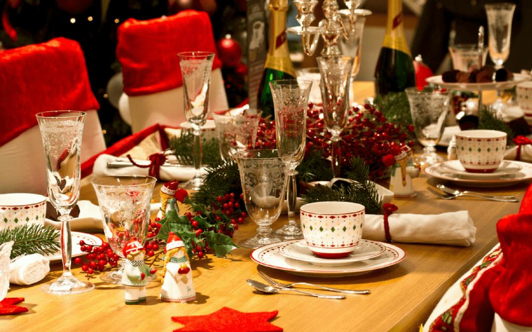 Eten tijdens Kerst